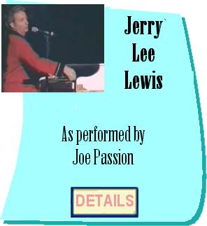 Jerry Lee Lewis by Joe Passion